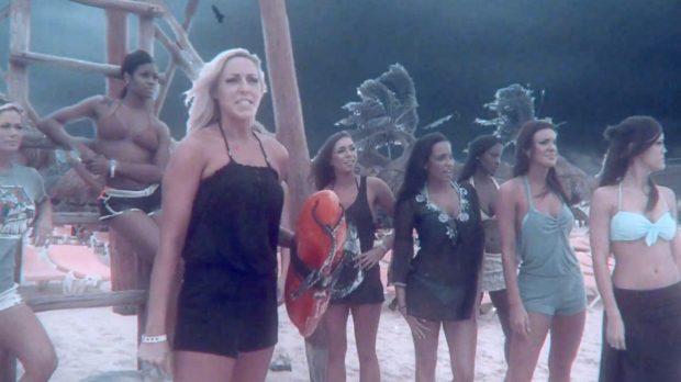 """atlanta hawks cheerleaders do """"Sharknado"""" spoof"""