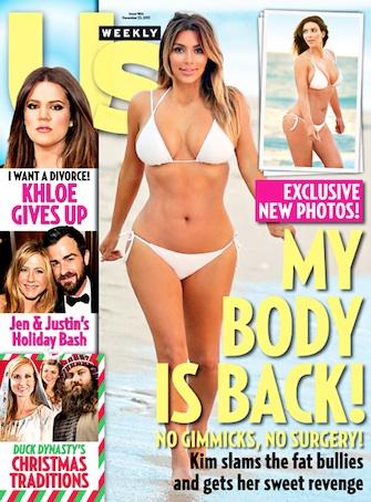 Kim Kardashian sheds 50 pounds