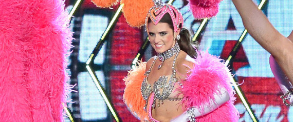Danica Patrick showgirl wardrobe malfunction (photo)