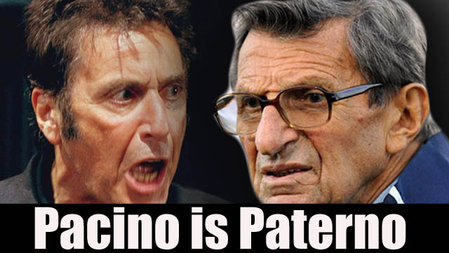 Al pacino To star in joe paterno film