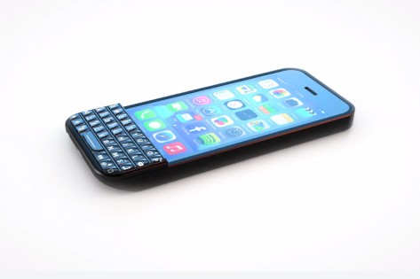 BlackBerry is suing Typo Products (whose keyboard is shown above) for patent infringement. HANDOUT/Typo Products