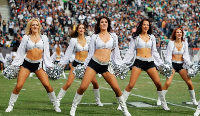 Oakland raiders cheerleaders sue over wages, has to buy own tights