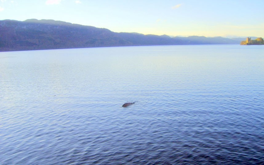 In March 2012 George released what was purported to be the best picture of Nessie yet…