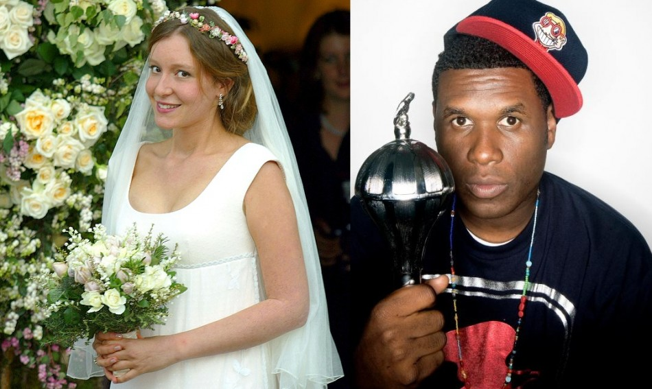 The estranged wife of Ben Goldsmith has defended her affair with US rapper Jay Electronica