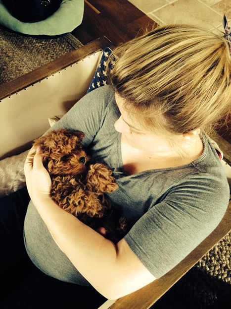 Kelly Clarkson Puppy