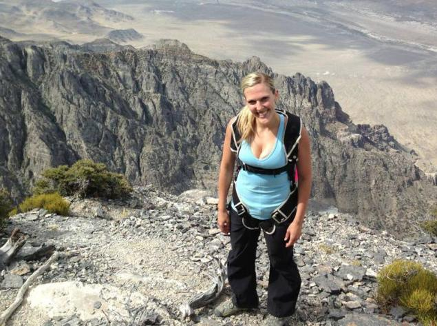 Newlywed Base jumper falls to death: Utah Woman Jumps 2,000ft To Her Death (PHOTO)