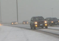 Winter Storm And Freezing Rain Hits Ontario