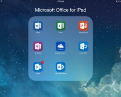 Microsoft Office Releases New Software for iPad