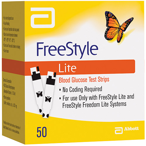 Abbott FreeStyle glucose test strips