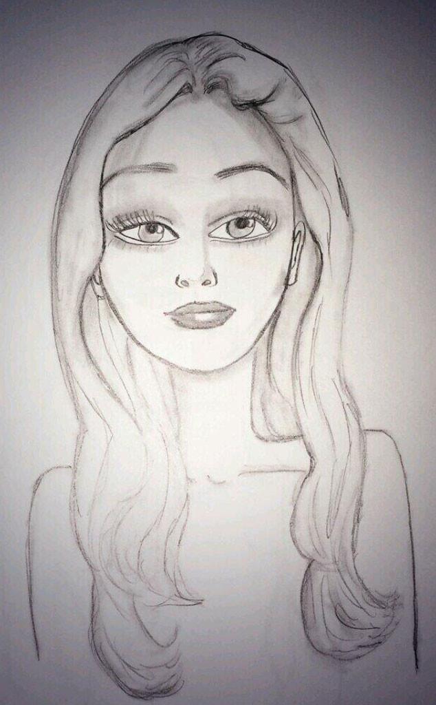 Amanda Bynes Self Portrait