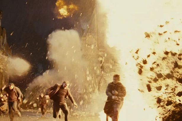 Explosion scene: Harry Potter and the Deathly Hallows