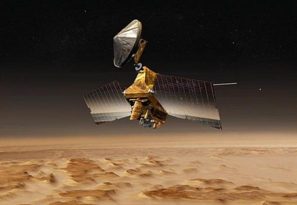 NASA Mars Orbiter Computer Suffers Glitch