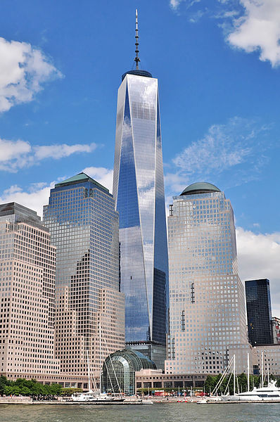 One World Trade Center (also 1 World Trade Center or 1 WTC, dubbed the Freedom Tower during initial basework) is the primary building of the new World Trade Center complex in Lower Manhattan, New York City, and the tallest skyscraper in the Western Hemisphere.