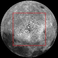 moon north pole: Amazing New Lunar North Pole Images Published