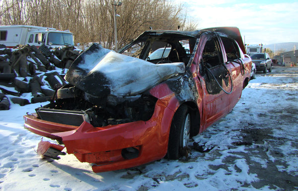 Kelly Ruddy was killed in 2010 while driving this 2005 Chevy Cobalt, one of the models and years involved in a 1.6-million-car recall because of faulty ignition switches.