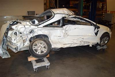 Pediatric nurse Brooke Melton, 29, died in this 2005 Chevy Cobalt on March 10, 2010, when the ignition allegedly shut off as she drove down a highway on a rainy night in Georgia. She then lost control of the vehicle and was hit on the passenger side by an oncoming vehicle.