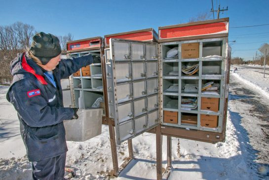 KAZ NOVAK / THE HAMILTON SPECTATOR Canada Post announced Feb. 20, 2014 that some neighbourhoods in Oakville will be the first to lose home delivery under a new plan to shift to community mailboxes
