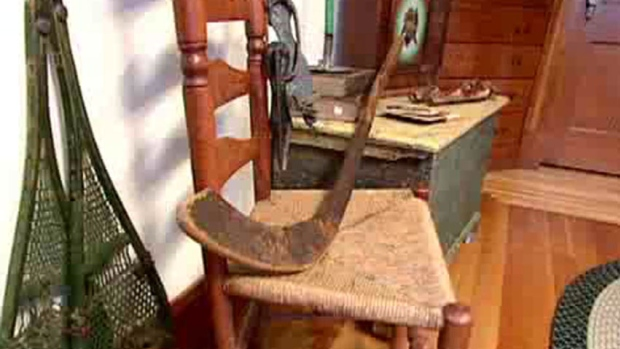 The Moffatt stick was crafted between 1835 and 1838, according to tests done at Mount Allison University in Sackville, N.B.