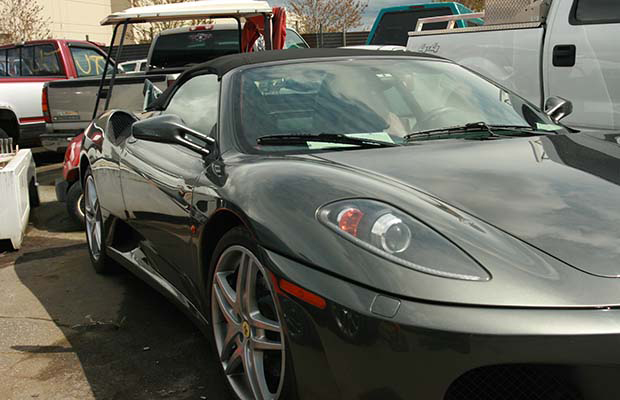 A Langley man had his Ferrari impounded after Mounties nabbed him going 180 km/h at a Surrey intersection where five people were killed in this collision in 2013. Photograph by: Submitted , RCMP
