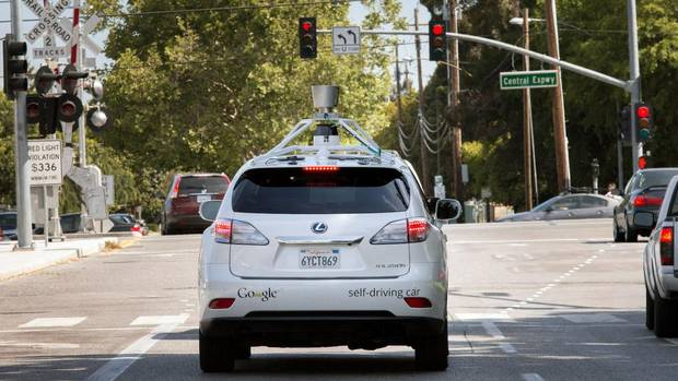 Google's Self-Driving Cars Drive Safely in the City
