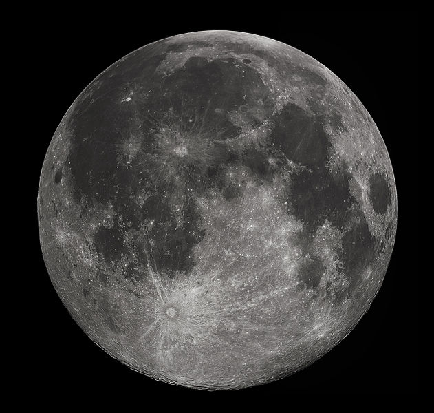 New Evidence Supports Theory of Moon Formation.