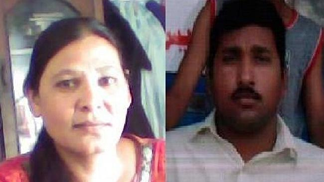 Shagufta Kausar and Shafqat Emmanuel are accused of sending a priest a text containing blasphemous content. Picture: The couple's legal team/World Vision In Progress Foundation Source: Supplied