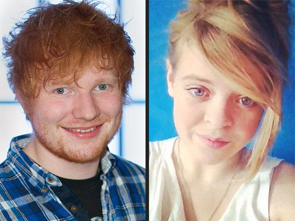 Sheeran serendaes fan
