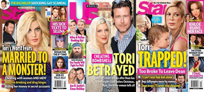 Tori Spelling and Dean McDermott take marriage crisis to reality TV