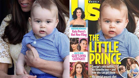 US Weekly magazine photoshops Prince George