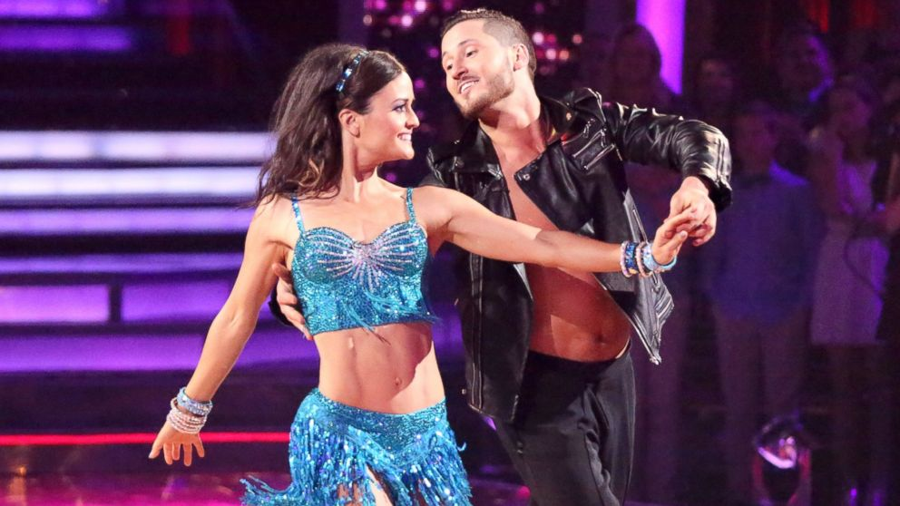 danica mckellar breaks rib During DWTS Rehearsal