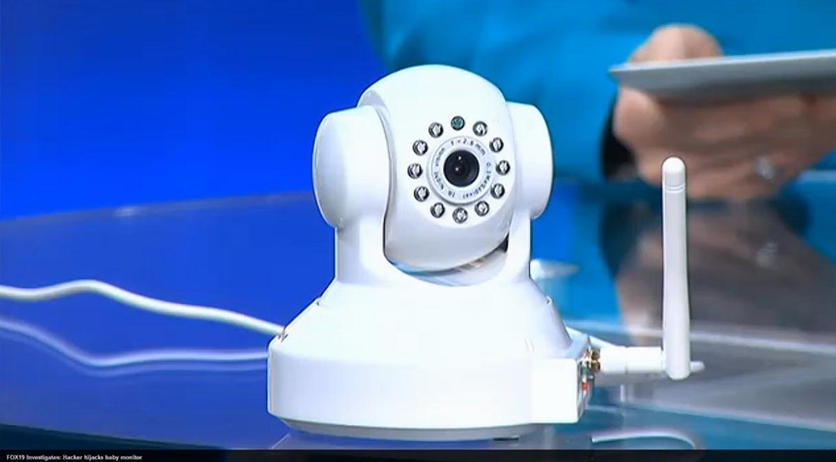 monitor hacker baby: Hacker Screams At Ohio Couple's Infant