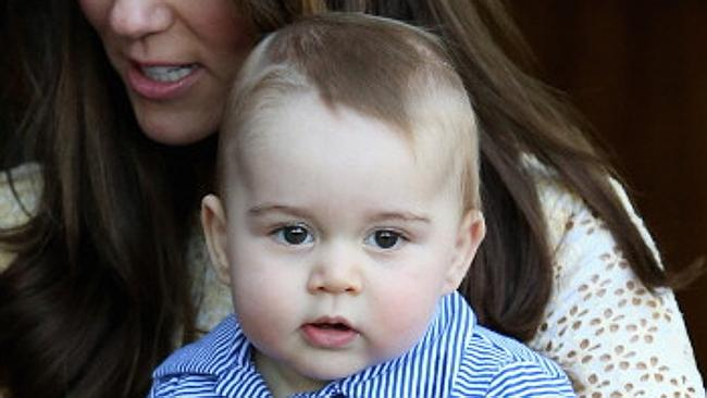 US Weekly magazine photoshops Prince George: