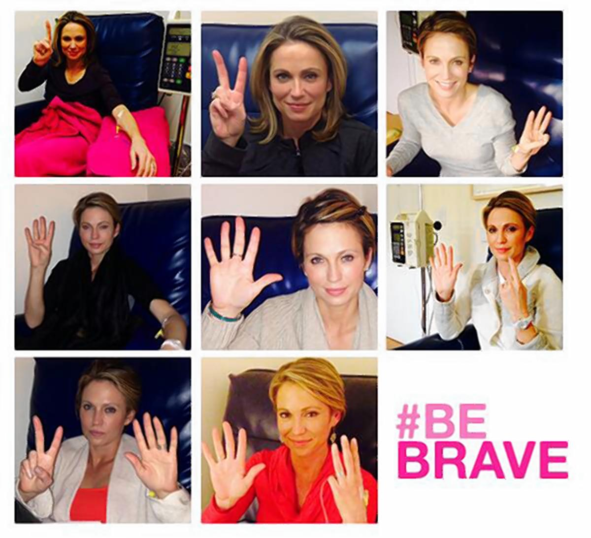 'Today is my final round of chemotherapy. I wanted to share this moment with you to encourage anyone facing this battle,' Amy Robach said after she finished her last round of chemotherapy for breast cancer.