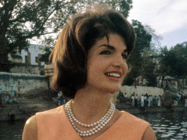 """Jacqueline Kennedy in March 1962. """"That world can be very glamorous from the outside — but if you're in it, and you're lonely, it could be a Hell,"""" she wrote years earlier of the glamorous lifestyle she aspired to and would one day live."""