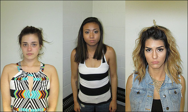 3 Women Arrested After Twerking  in Oregon (PHOTO)