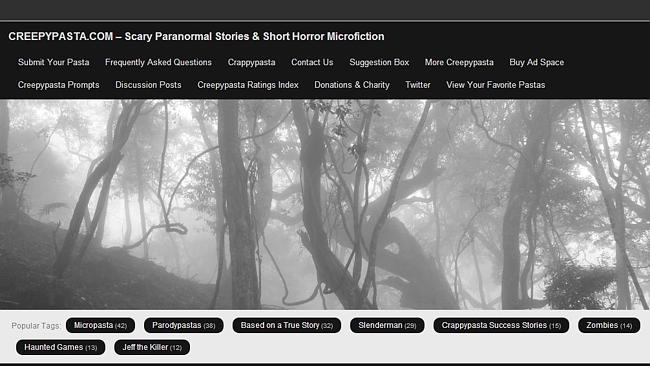 "The Creepypasta website at the centre of the furore surrounding the young teens' behaviour is direct about declaring its intentions: ""In short, a creepypasta is a short story posted on the internet that is designed to unnerve and shock the reader""."