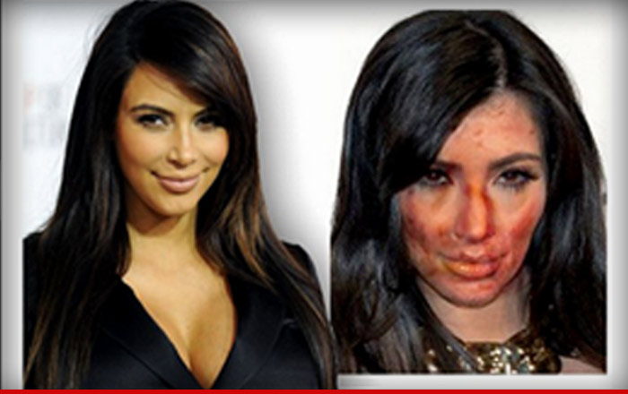 Kim Kardashian's 'meth face' used by police department website as warning to drug users