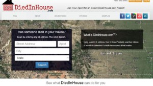 Diedinhouse: Ghoulish website that tells you if someone died in your house image