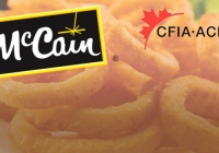 McCain brand Onion Rings may glass CFIA Issues Recall