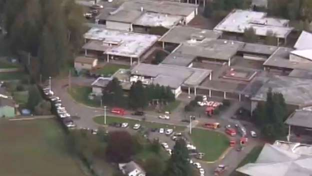 Seattle high school shooting: School Shooting At Marysville-Pilchuck High School