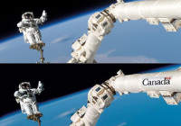Canadian Government Using Photoshopped Images of ISS's Canadarm