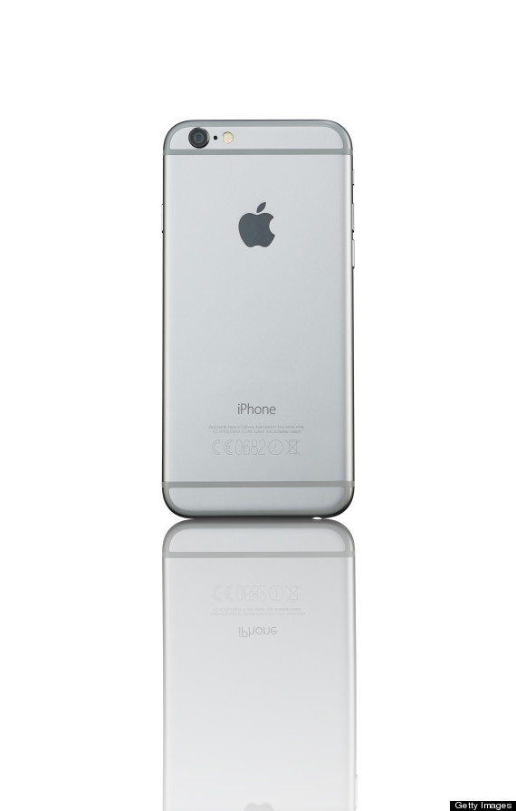 An Apple iPhone 6 smartphone with a Space Grey finish, taken on October 20, 2014. (Photo by Philip Sowels/Future Publishing via Getty Images)