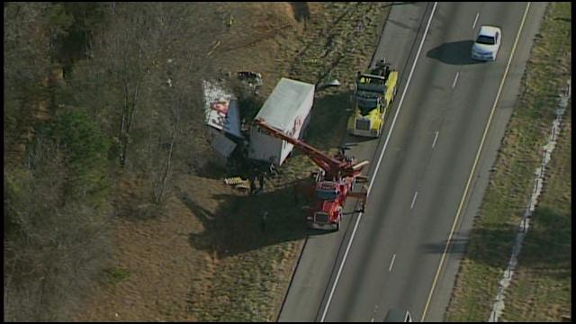 fedex truck accident: mechanical malfunction suspected