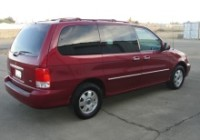 Police say the children were last seen in a 2002 red Kia Sedona (stock image shown) with license plate BPB 6141. (Auto Mix)