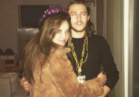 Christina Schwarzenegger and Braison Cyrus began dating a month after their siblings hooked up. Photo: Instagram