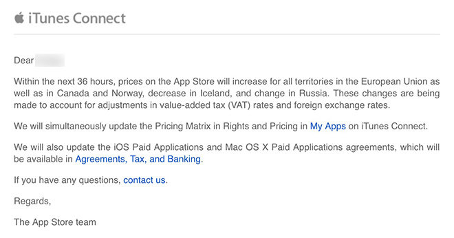 App Store Prices Adujusted To Reflect Canadian Dollar