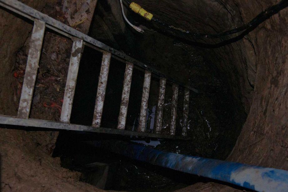 Toronto police underground