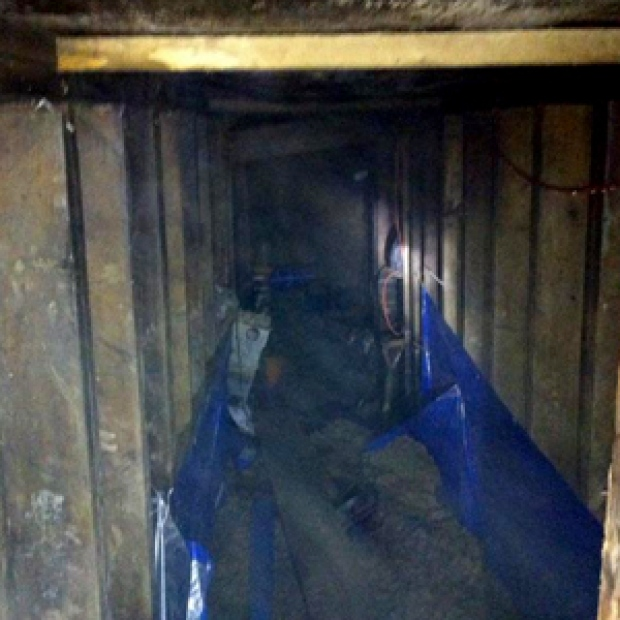 Newly Dug Tunnel Found Near the Rexall Center and York University