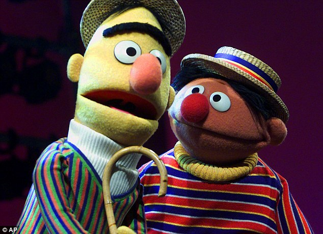The app will launch with content from Jim Henson TV, DreamWorks, National Geographic, and a handful of popular YouTubers and new series, such as Thomas the Tank Engine. A stock image of Bert and Ernie from Sesame Street is shown