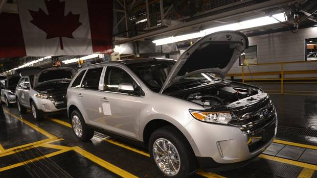 Oakville Ontario Ford Plant Adds 400 New Jobs With More Expected